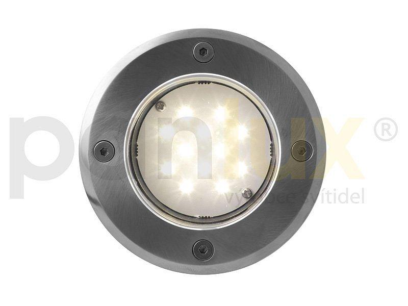 ROAD venkovní pojezdové svítidlo 12LED 12V - teplá bílá