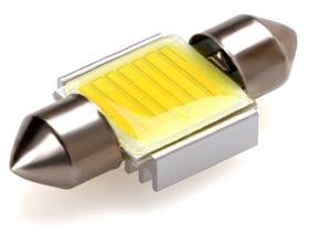 COB LED sufit (31mm) bílá, 12V