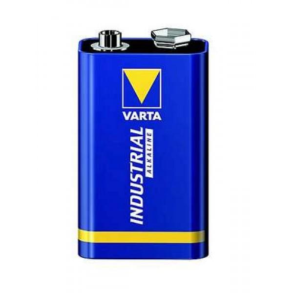 Alkalická baterie Varta High Energy Industrial 6LR61 9V