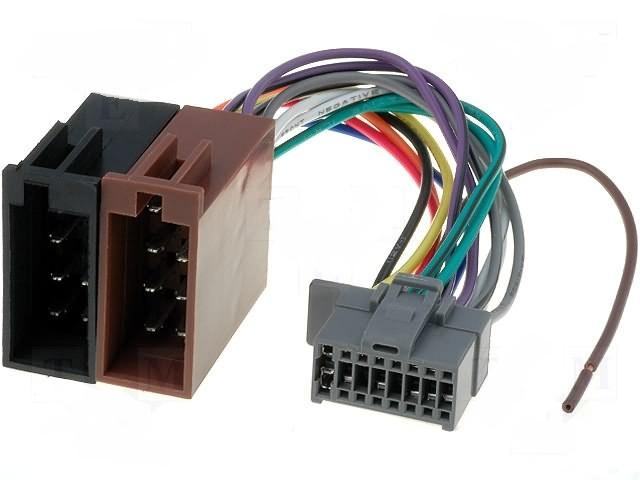 ISO kabel pro autorádio PANASONIC II. 2003- zrs-130