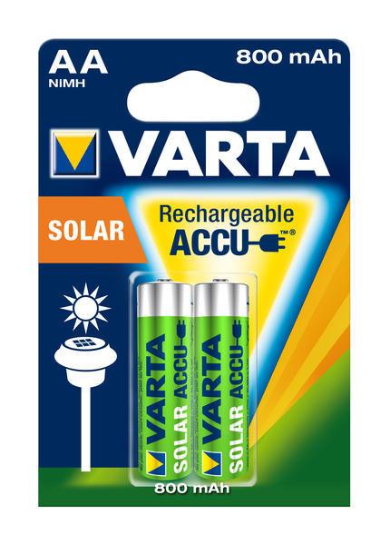 Baterie AAA(R03) nabíjecí VARTA solar 800mAh