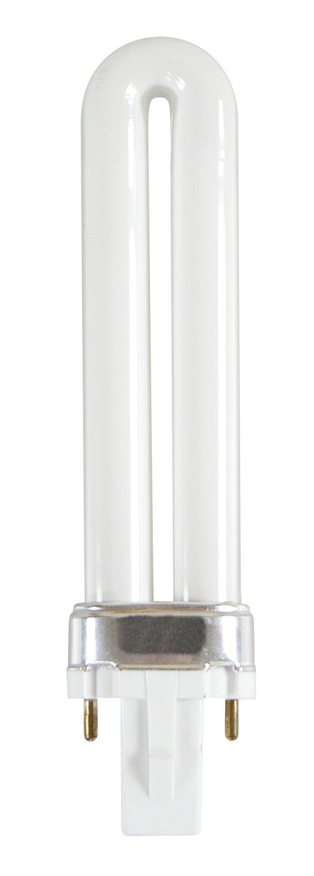 Zářivka PL-S 230V/9W ultrafialová (UV), patice G23