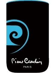 Pouzdro Pierre Cardin - FRESH LOGO, vertikální, modré (117x60x12mm)