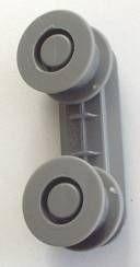 Ložisko drážky koše myčky nádobí AEG
