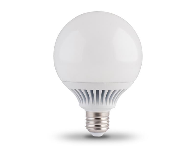 Žárovka LED G95 E27/230V 12W - bílá teplá