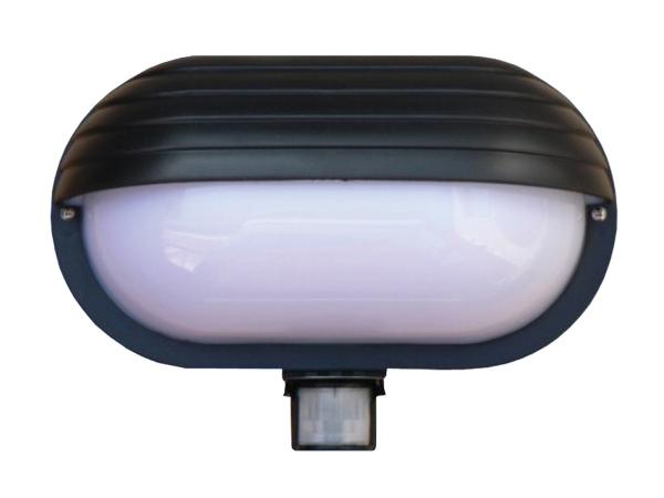 Svítidlo nástěnné s čidlem pohybu Oval PIR-Micro
