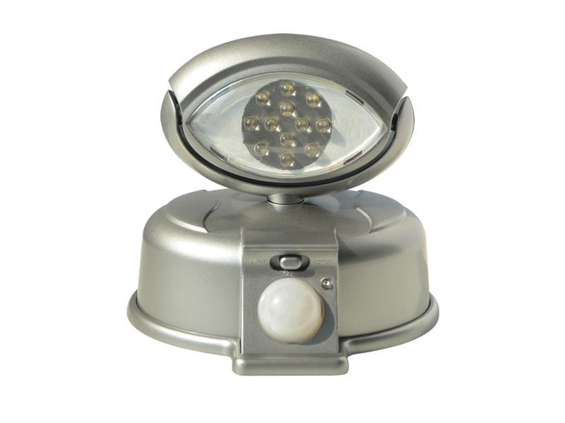 TIPA LED reflektor s PIR čidlem na 4xAA, RF01