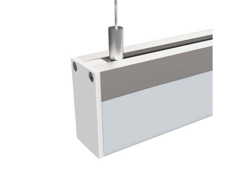 LED závěsné osvětlení,15W, 960lm, 3000K, 100cm, hranol WO601