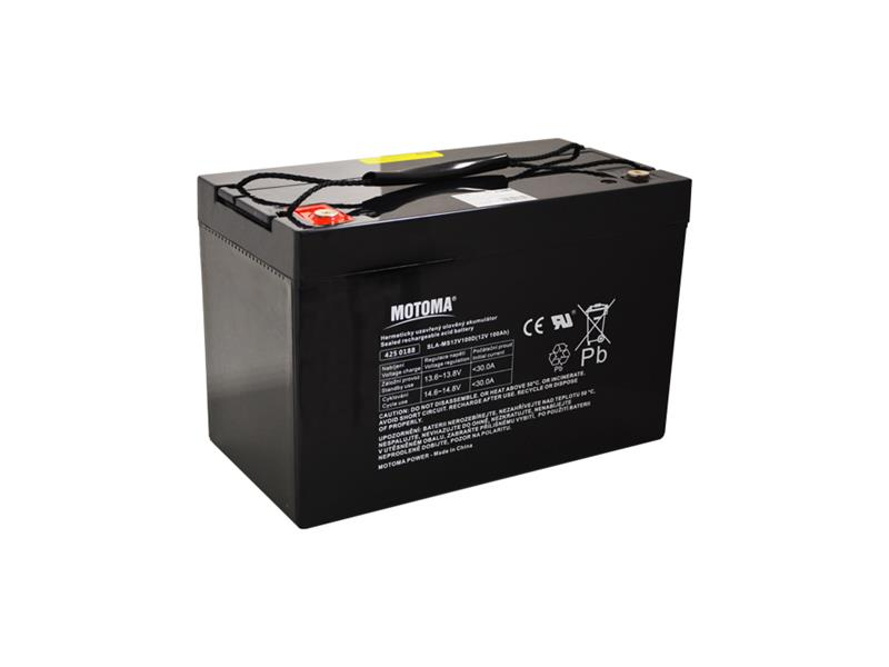 Baterie olověná 12V/100Ah MOTOMA pro soláry