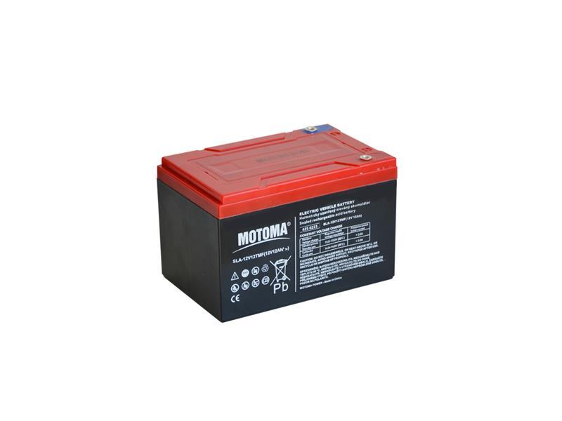 Baterie olověná 12V/12Ah MOTOMA pro elektromotory