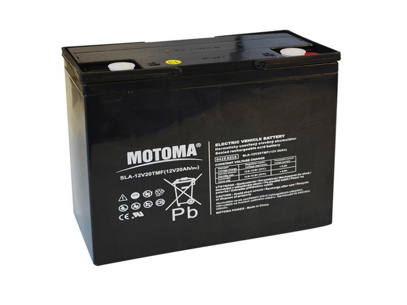 Baterie olověná 12V/20Ah MOTOMA pro elektromotory
