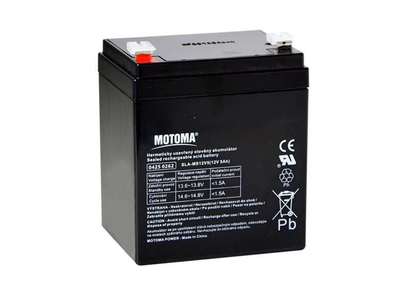 Baterie olověná 12V/ 5Ah MOTOMA