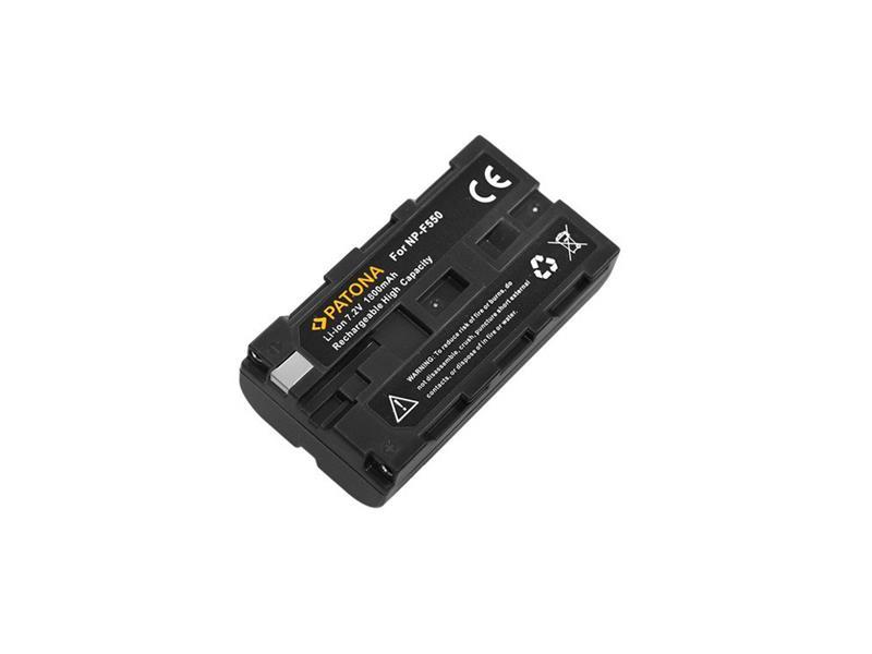 Baterie SONY NP-F550 1500mAh PATONA PT1052
