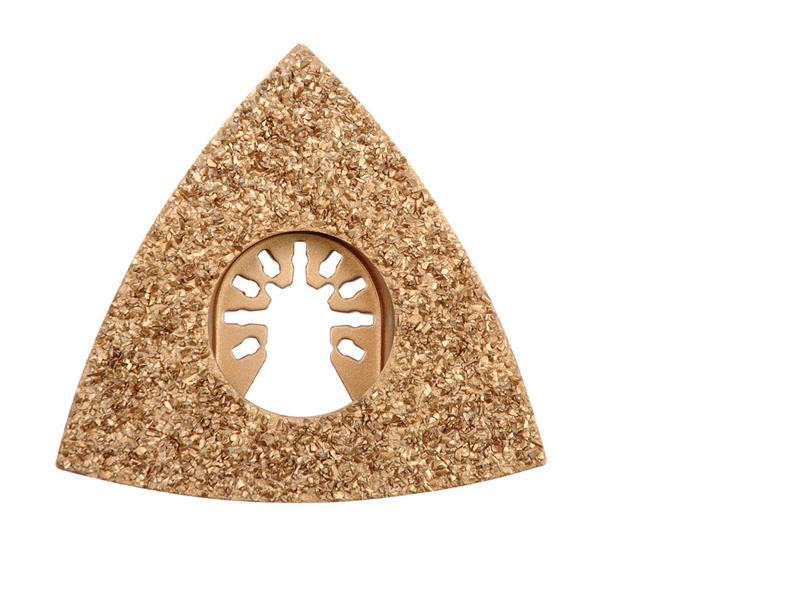 Trojúhelníková brusná deska pro multifunkční nářadí HM, 80mm (beton, keramika )