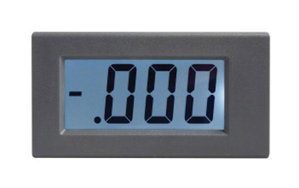 Panelové měřidlo 199,9uA WPB5035-DC ampérmetr panelový digitální