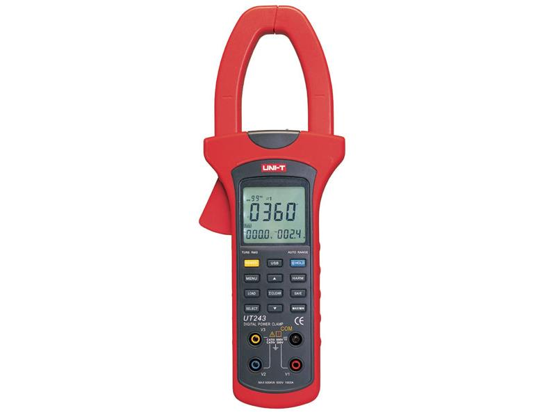 Klešťový multimetr UNI-T UT243 wattmetr