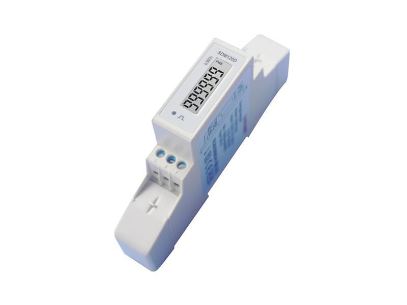 Elektroměr 1F na DIN lištu jednofázový 120D, digitální