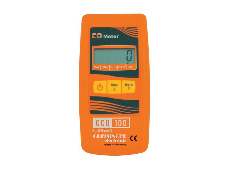 Detektor oxidu uhelnatého (CO) Greisinger GCO 100