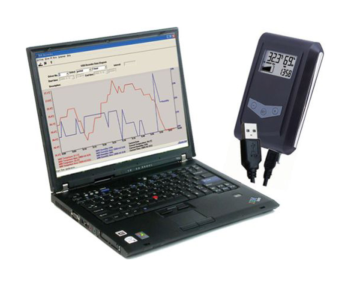 Datalogger DS100 USB (teplota, vlhkost)