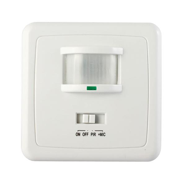 PIR senzor (pohybové čidlo) nástěnné LXS-21UP + mikrofon