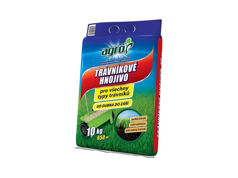Hnojivo trávníkové AGRO 10kg pytel