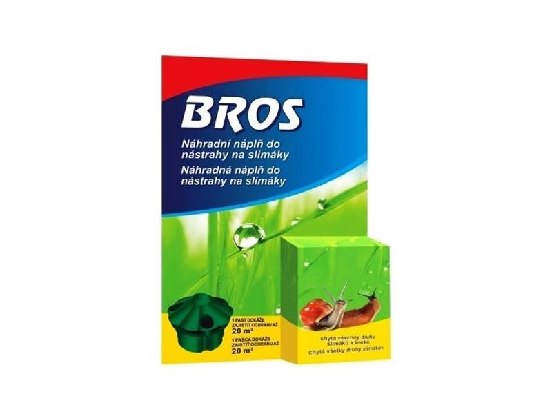Nástraha na slimáky BROS náhradní náplň 5ml