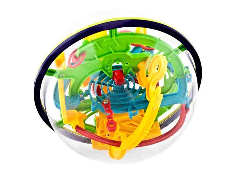 Hlavolam 3D Tramtárie 17cm (bludiště Intellect Ball)