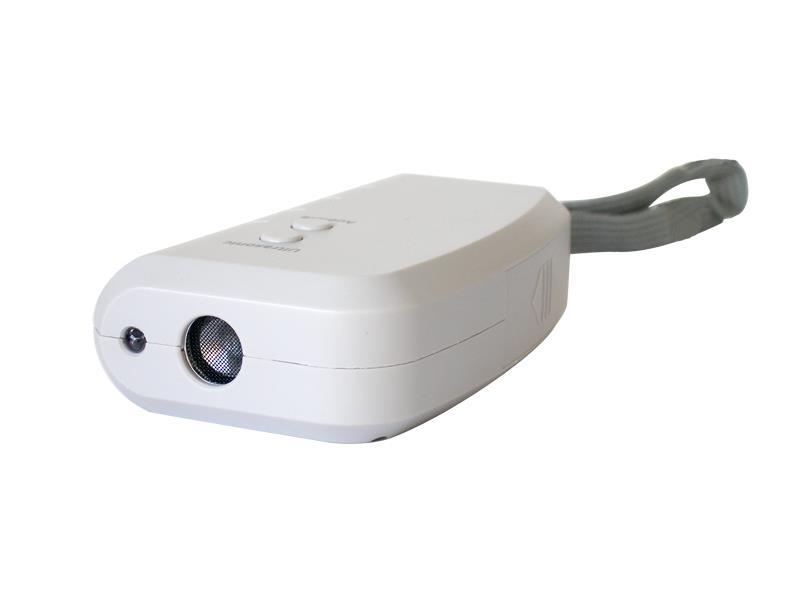 Odpuzovač psů + alarm, LED světlo