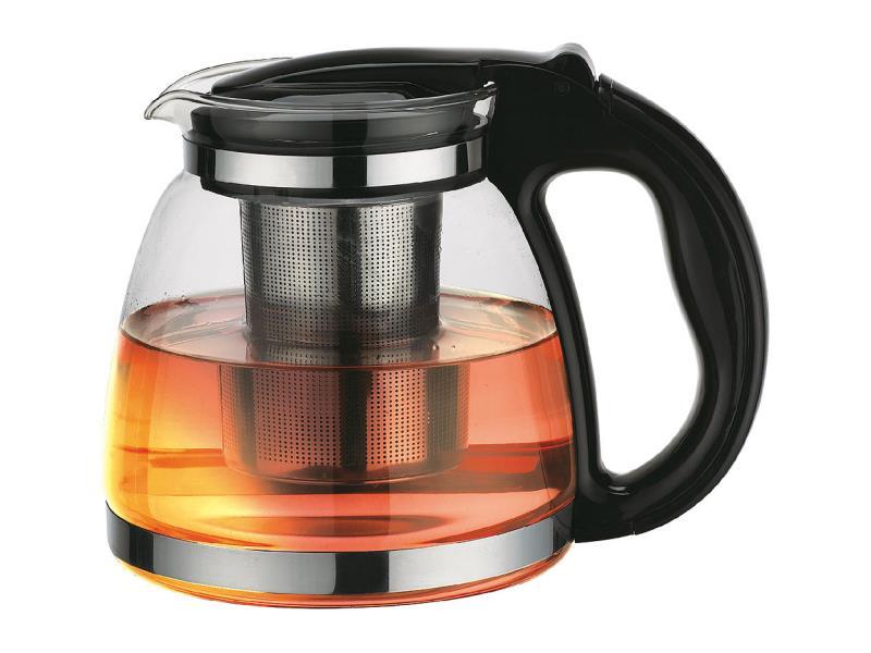 Skleněná čajová konvice 1,5l ORAVA VK-150