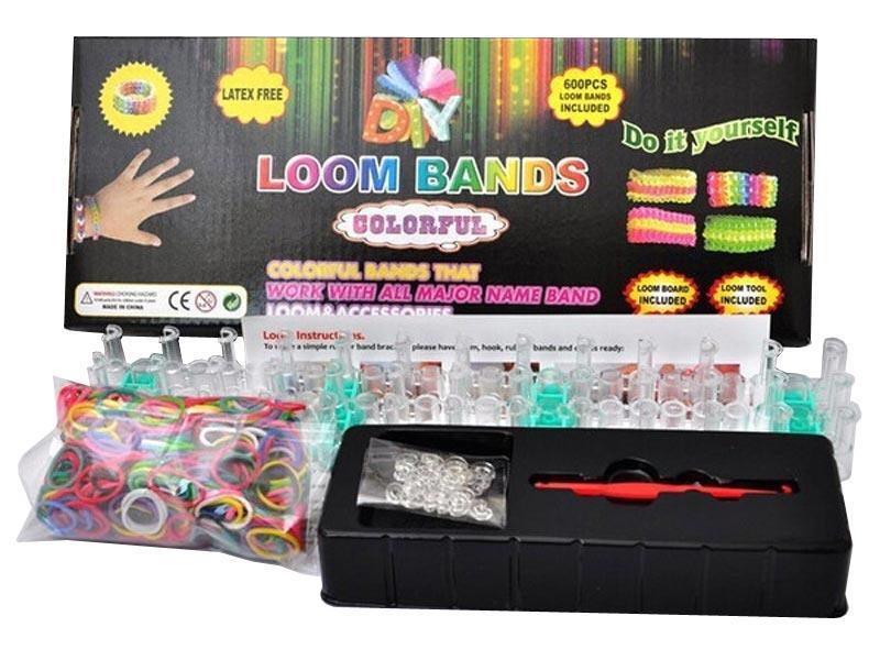 DIY Loom bands Gumičky