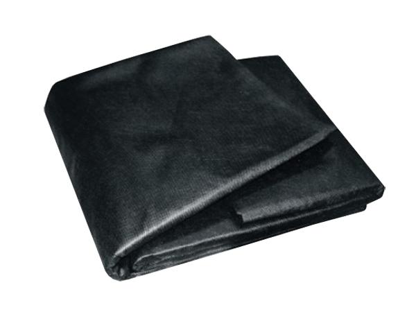 Textilie netkaná černá 1,6mx10m