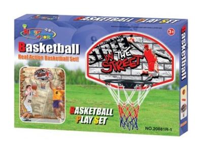 Stěna s košem na basketbal G21