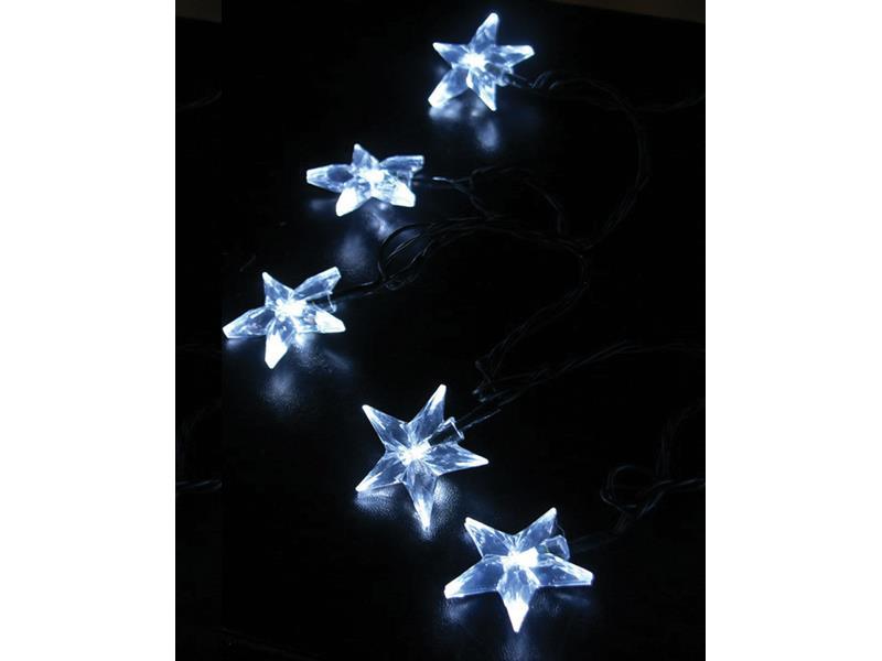 Řetěz vánoční 20 LED 3m 1V30-W bílý
