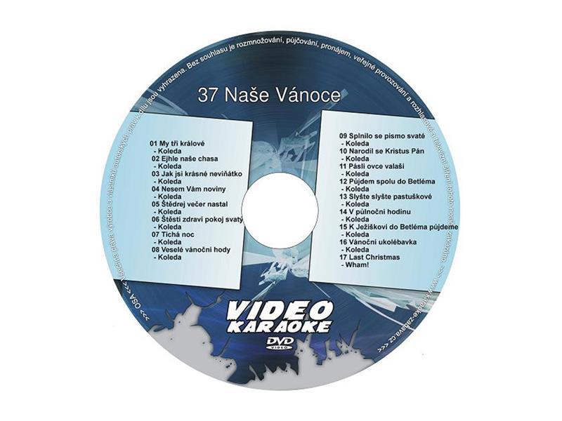 Karaoke DVD NAŠE VÁNOCE