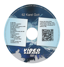 Karaoke DVD KAREL GOTT