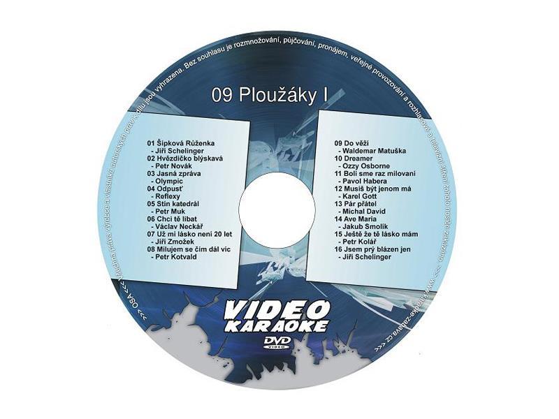 Karaoke DVD PLOUŽÁKY I