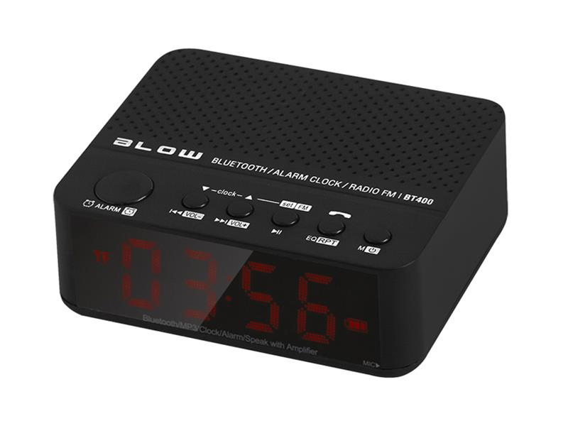 Reproduktor přenosný BLOW BT400 BLUETOOTH, SD, FM, HandsFree, AUX-IN, hodiny/budík