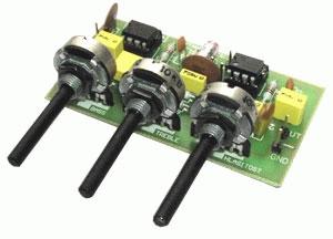 Stavebnice TIPA PT007 Kytarový a mikrofonní korekční zesilovač