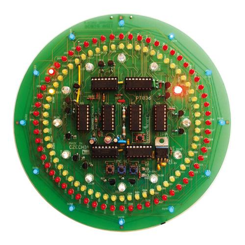 Stavebnice TIPA PT036 CMOS kruhové hodiny