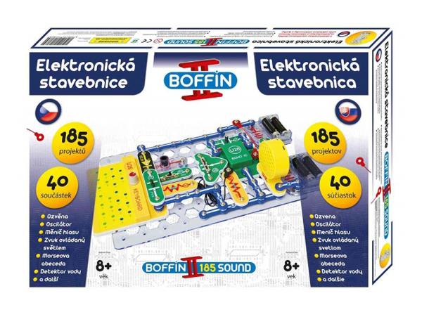Stavebnice elektronická BOFFIN II 185 SOUND