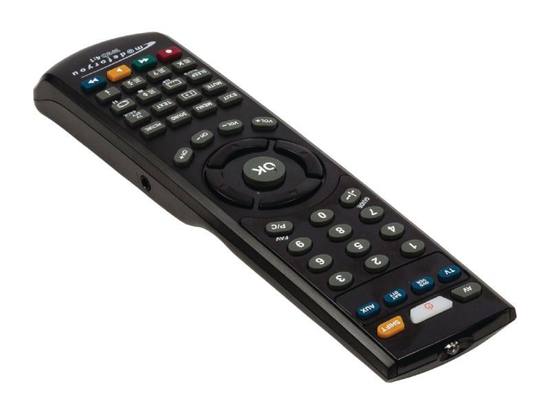 Ovladač pro TV dálkový univerzální 4v1 online KÖNIG KN-PCRC40