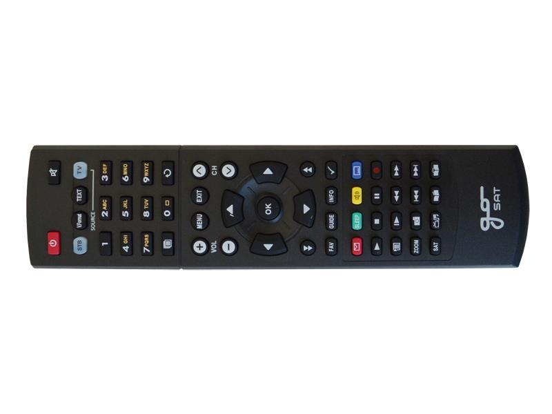 Ovladač dálkový univerzální GoSAT / Sunsat + TV
