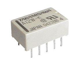 Relé 12V 0.5A/125VAC 2x přep. A12W-K