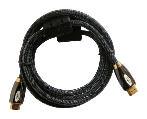 Kabel HDMI - HDMI 2,0m HQ (gold,ethernet,filtr)