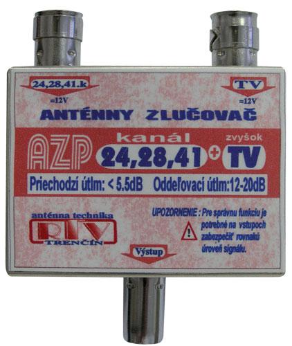 Anténní slučovač AZP24,28,41+TV IEC DOPRODEJ