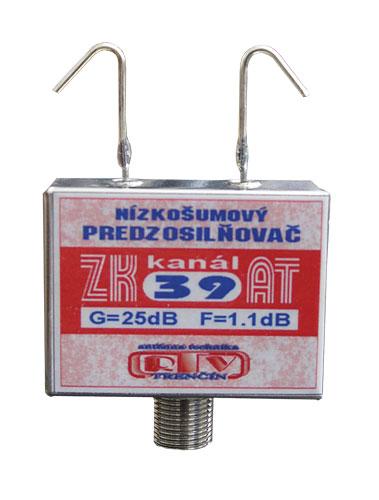 Anténní zesilovač ZK39AT 25dB F