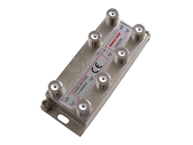 Anténní rozbočovač PV6 (6výstupy) - Emme Esse