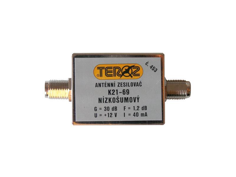 Anténní zesilovač UHF 30dB F-F Teroz