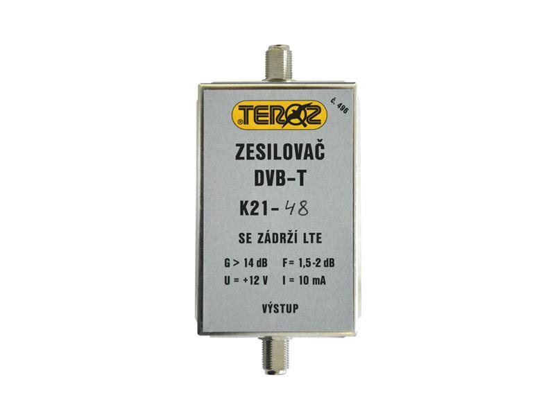 Anténní zesilovač s filtremLTE+GSM F-F Teroz 496X