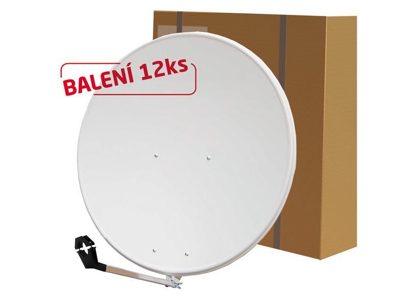 Satelitní parabola 80FE Emme Esse bílá BALENÍ 12ks